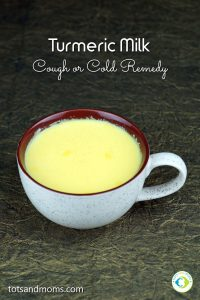 How to make Turmeric Milk cough or cold home remedy