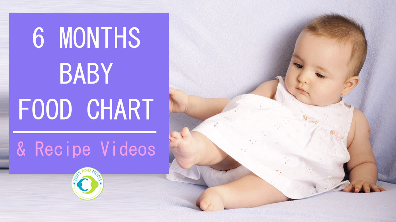 6 months indian baby food chart with recipe videos tots and moms 6 months indian baby food chart with recipe videos forumfinder Choice Image