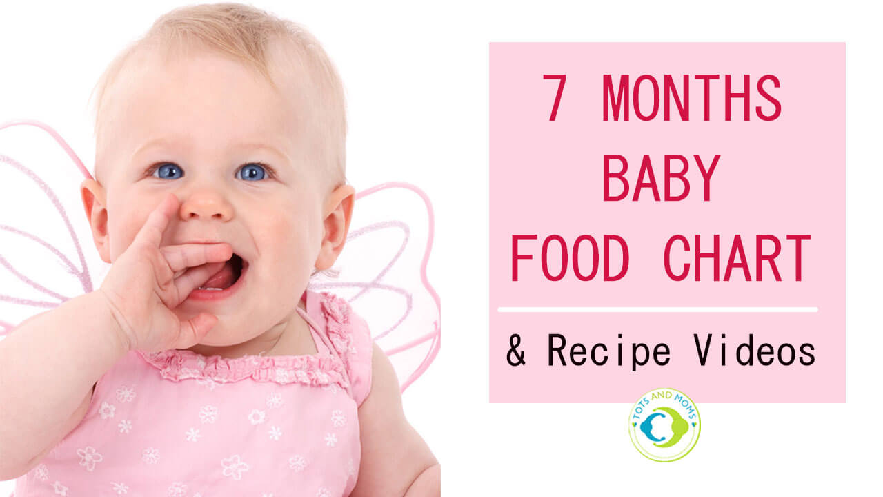 Baby food charts archives tots and moms 7 months indian baby food chart with recipe videos nvjuhfo Image collections
