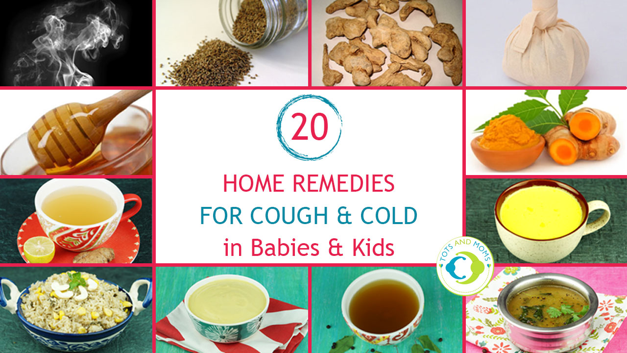 6 Ways to cure fever, cold, cough and congestion in babies , home remedies  for cold and cough in babies