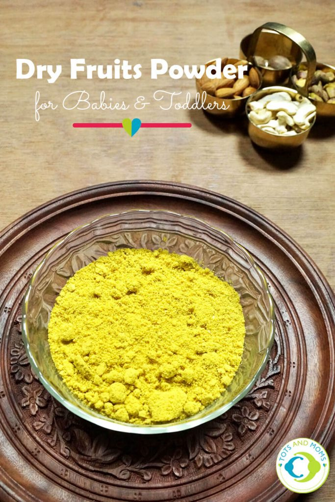DRY FRUITS POWDER for Babies, Toddlers and Kids