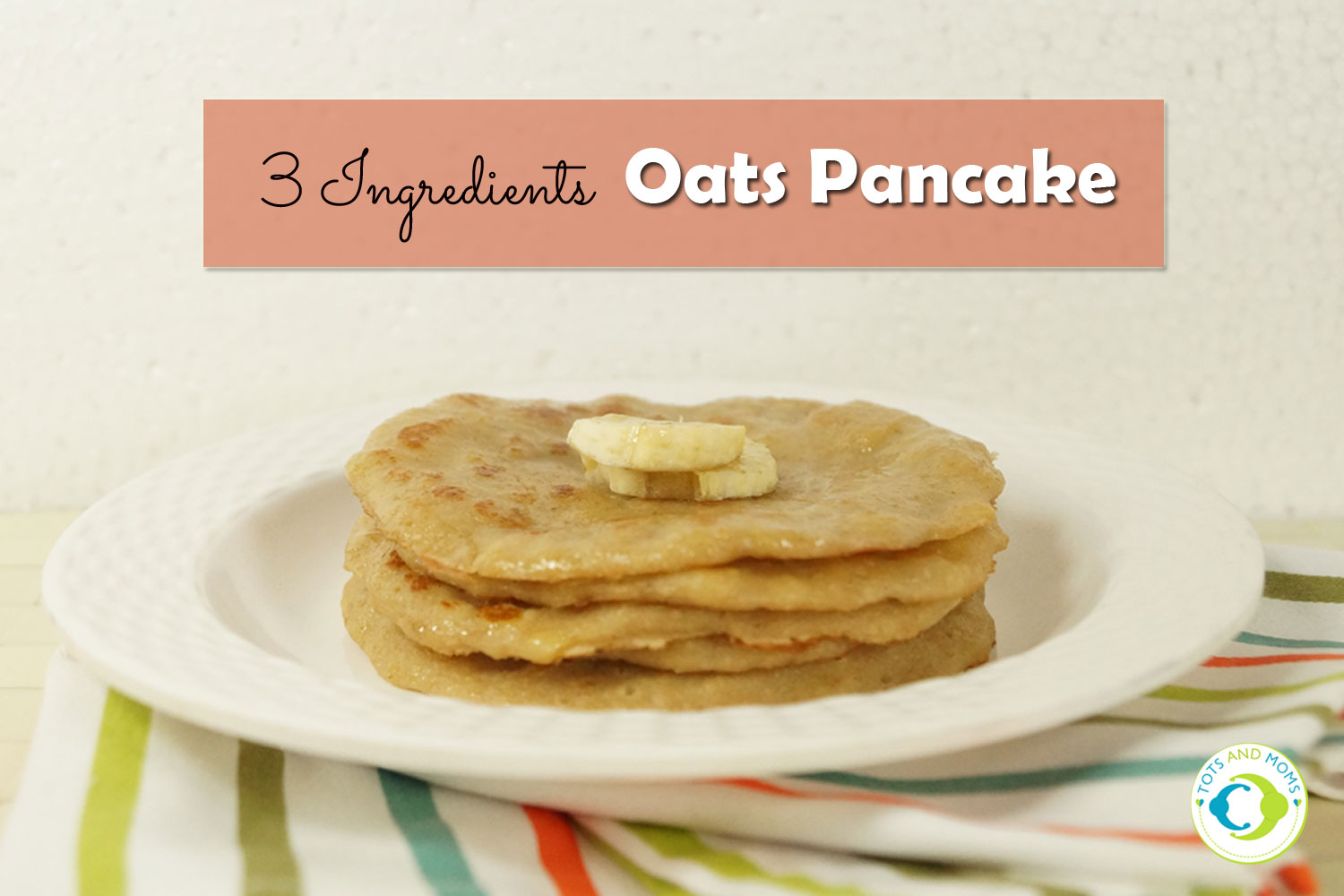3 ingredients oats pancake for babies toddlers kids family 3 ingredients oats pancake for babies toddlers kids family how to make oats ccuart Image collections