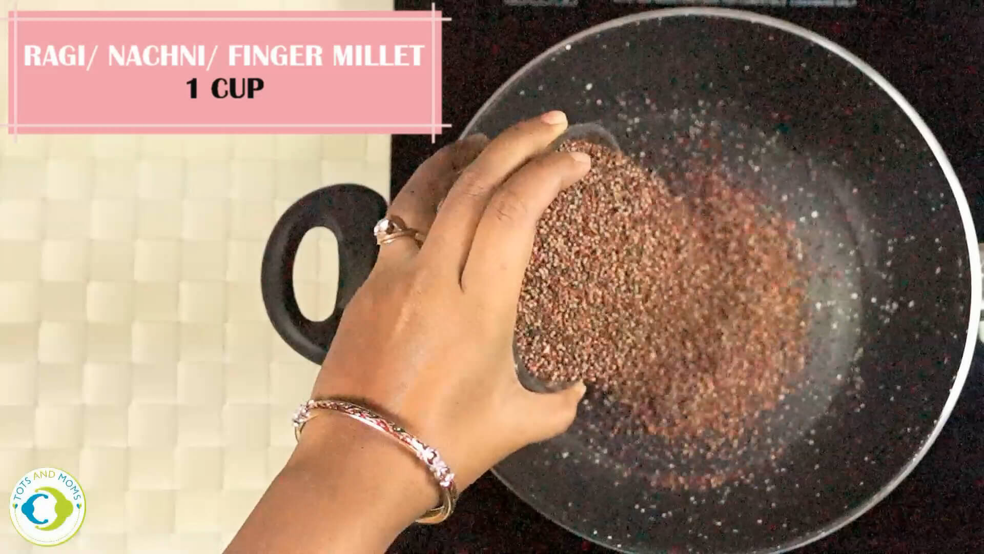 How to prepare Sathumavu Health mix for babies, toddlers and kids