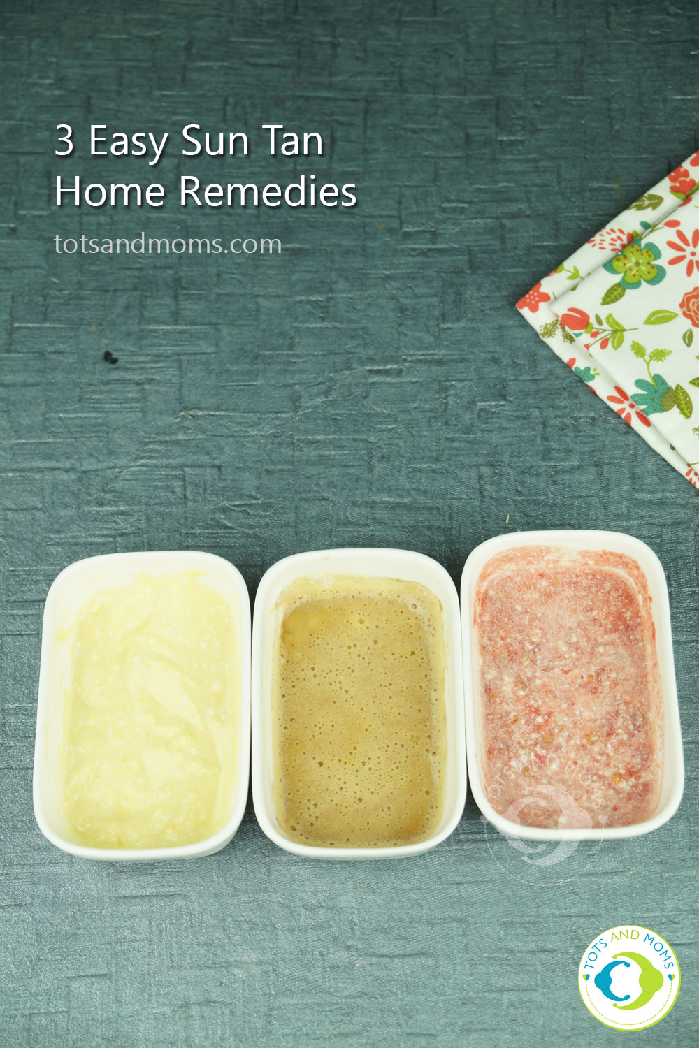 3 Easy Sun Tan Home Remedies For Kids And Moms Tots And Moms