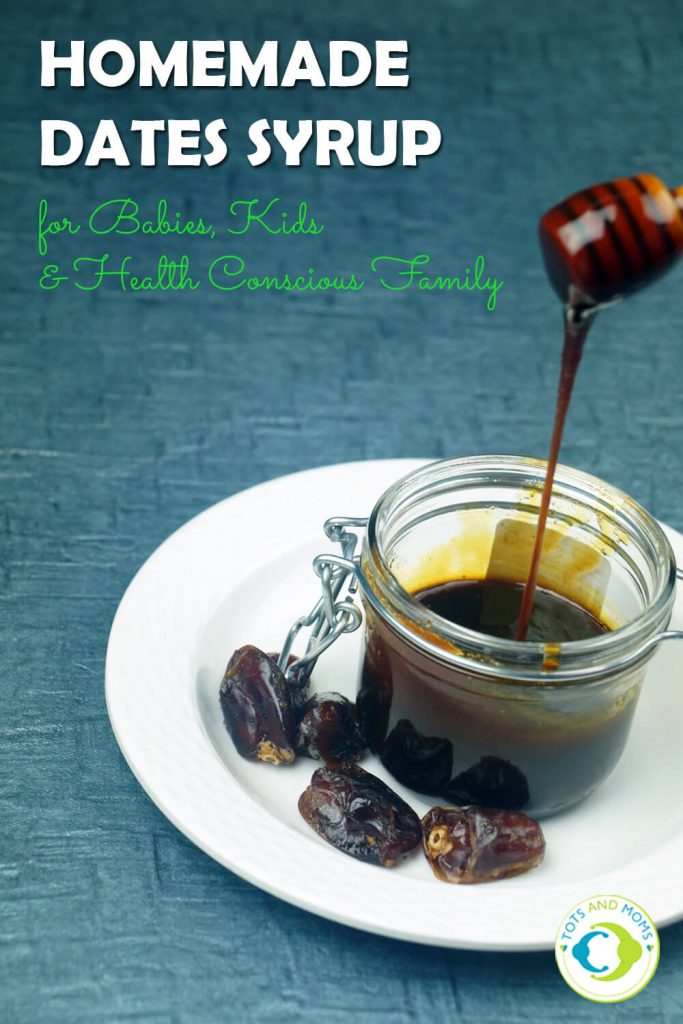 DATES SYRUP for Toddlers, Kids & Family