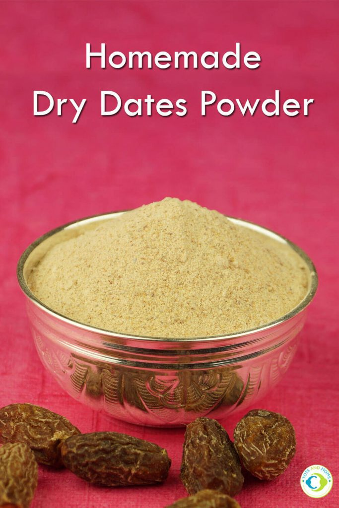 HOMEMADE DRY DATES POWDER for Toddlers, Kids & Family Benefits of Dry Dates powder