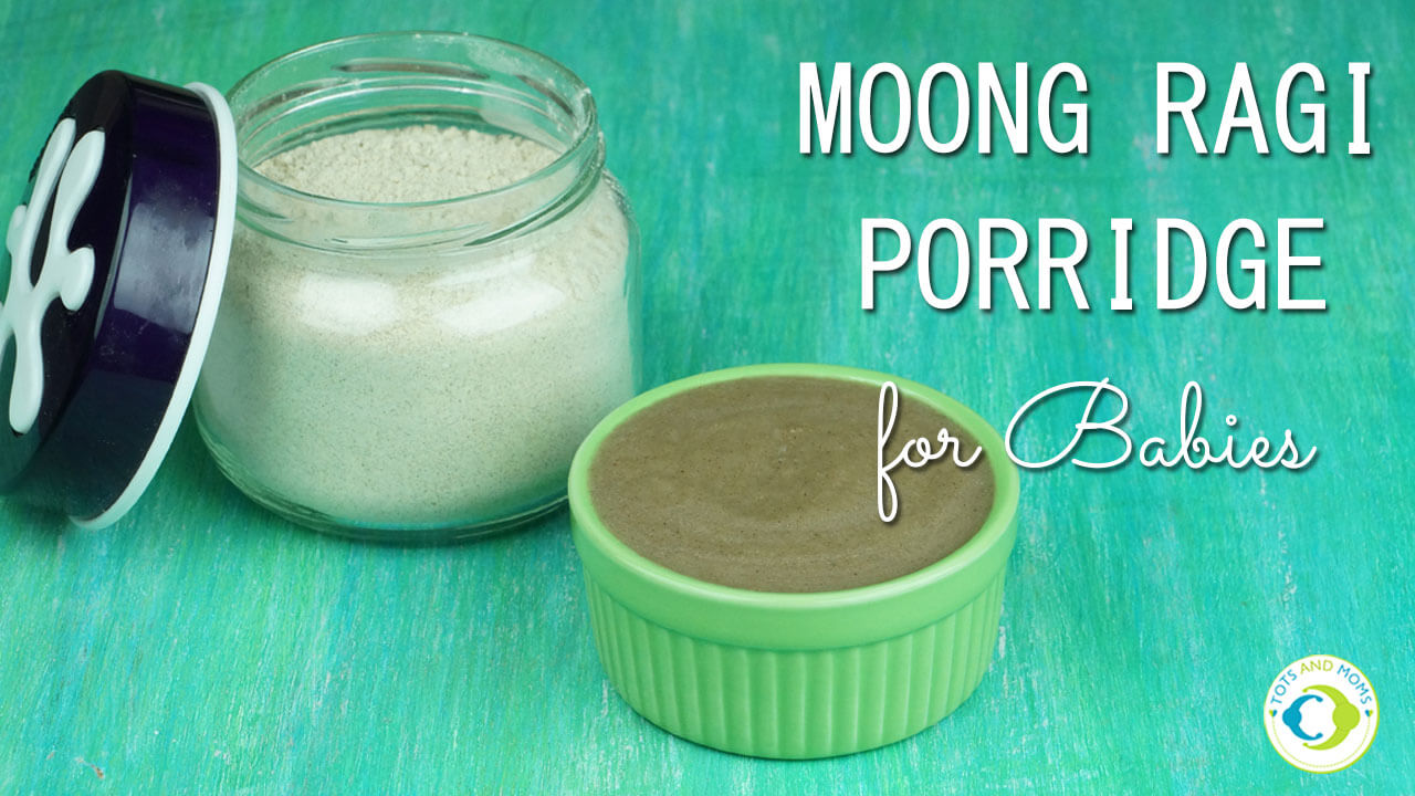MOONG RAGI PORRIDGE POWDER For Babies