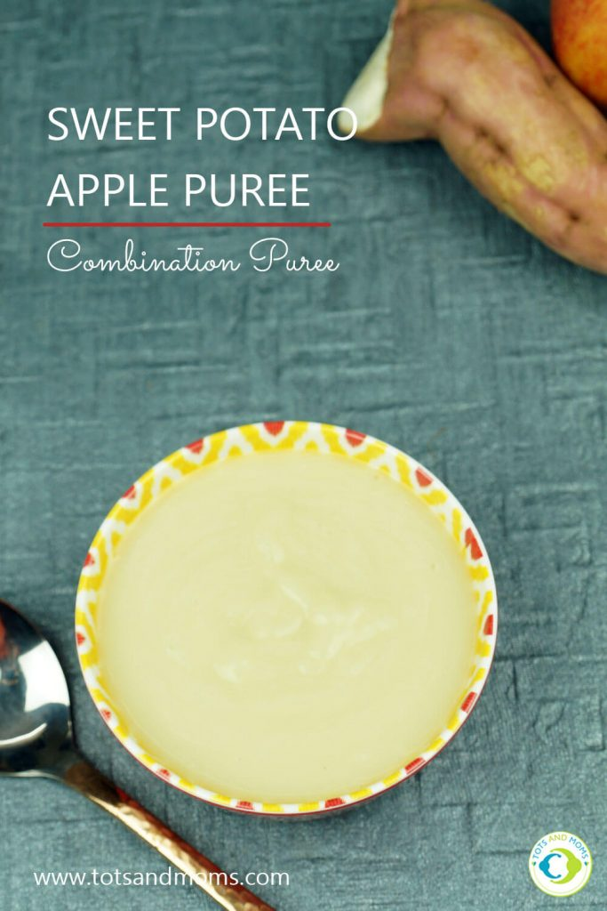 Sweet Potato Apple Puree for Babies