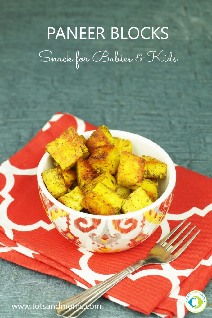 Paneer Blocks for Babies, Toddlers, Kids & Family