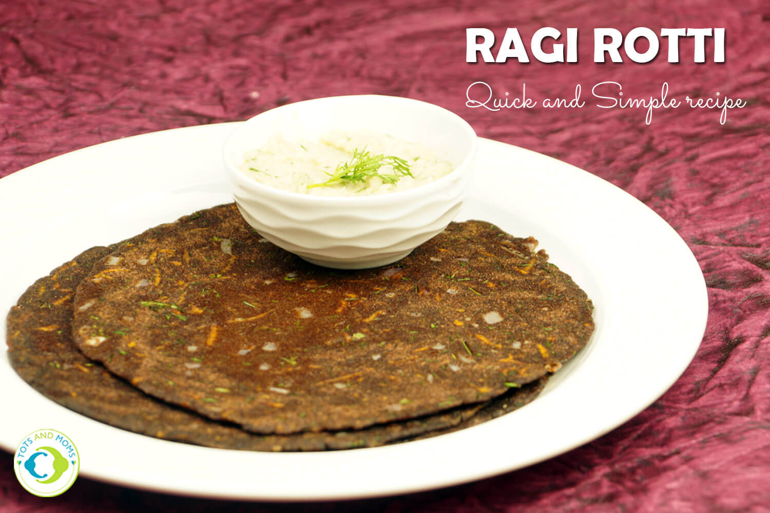 Recipes with Ragi or Finger Millet for the toddlers