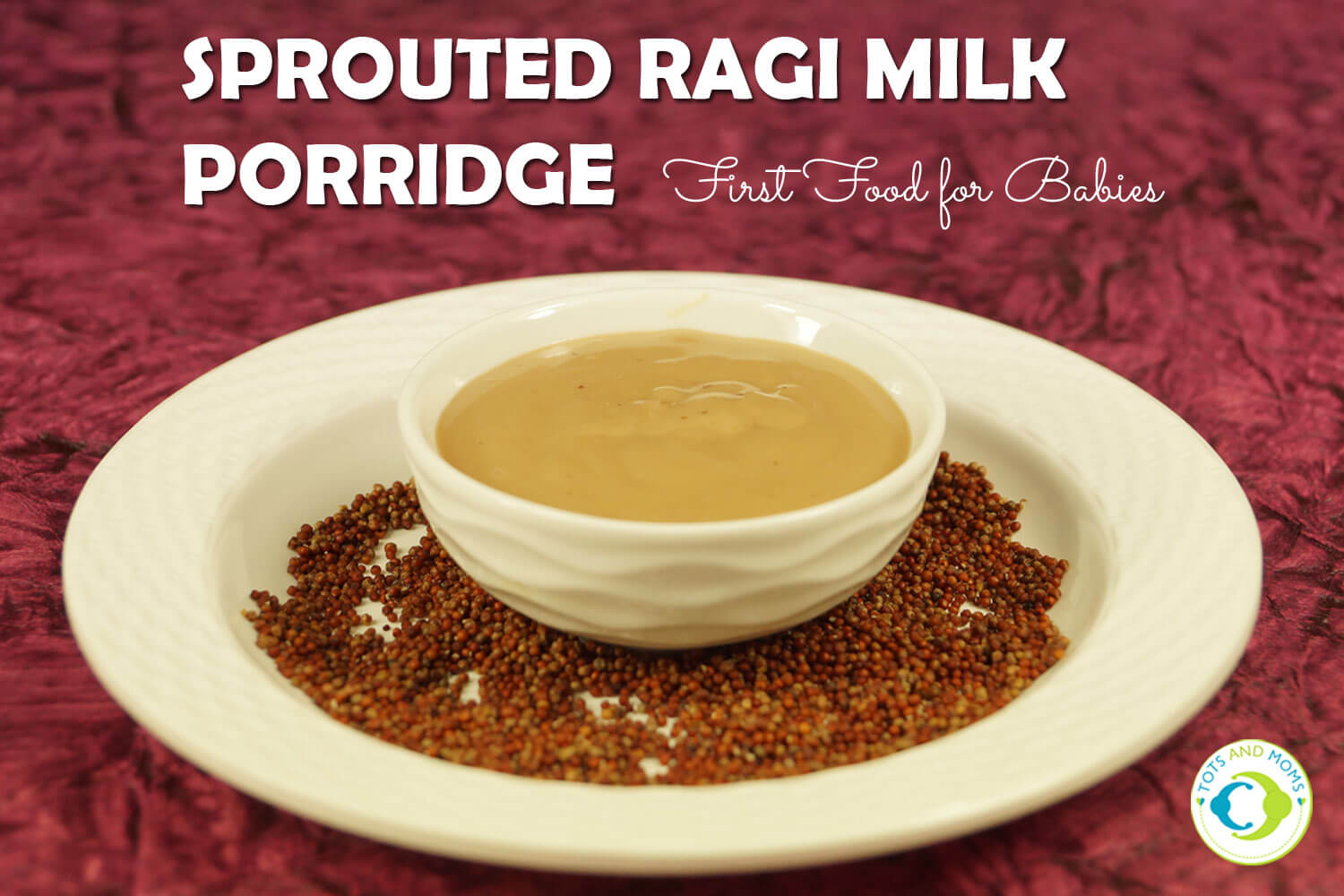 How to prepare homemade sprouted ragi milk