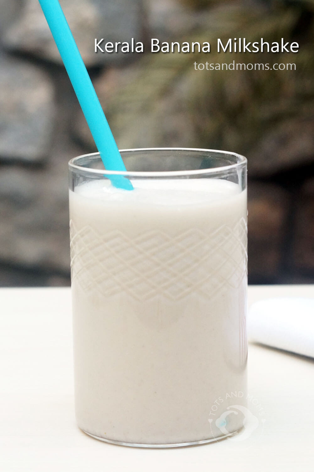 Kerala Banana Milkshake for Kids