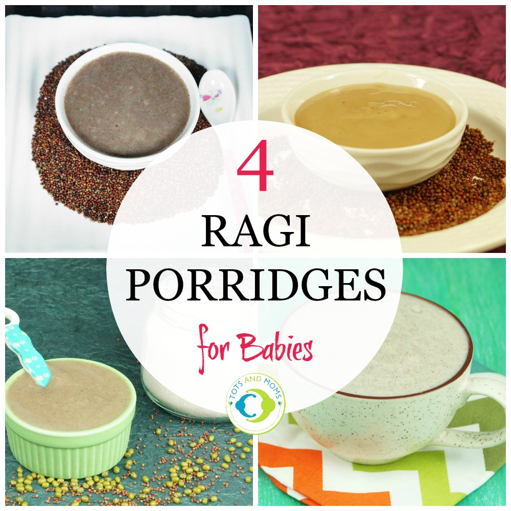 4 Ragi Porridge Recipes for Babies