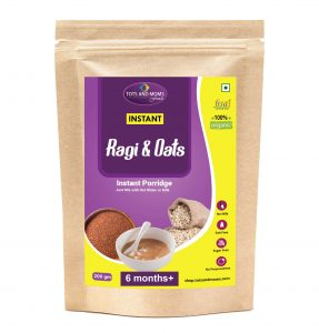 buy Instant Ragi & Oats homemade organic baby foods online india at discount tots and moms